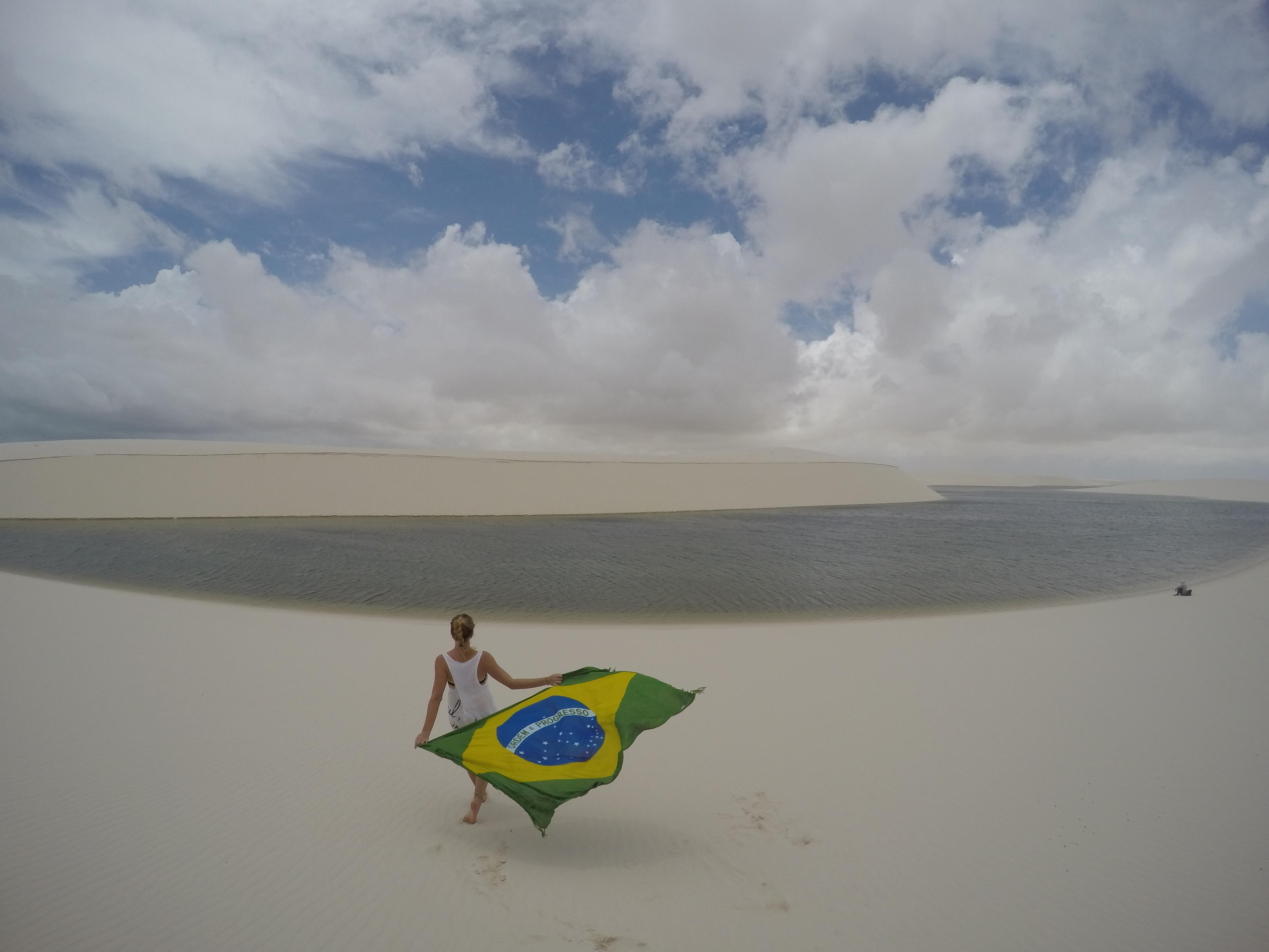 Nordeste Parque de Lencois Brésil