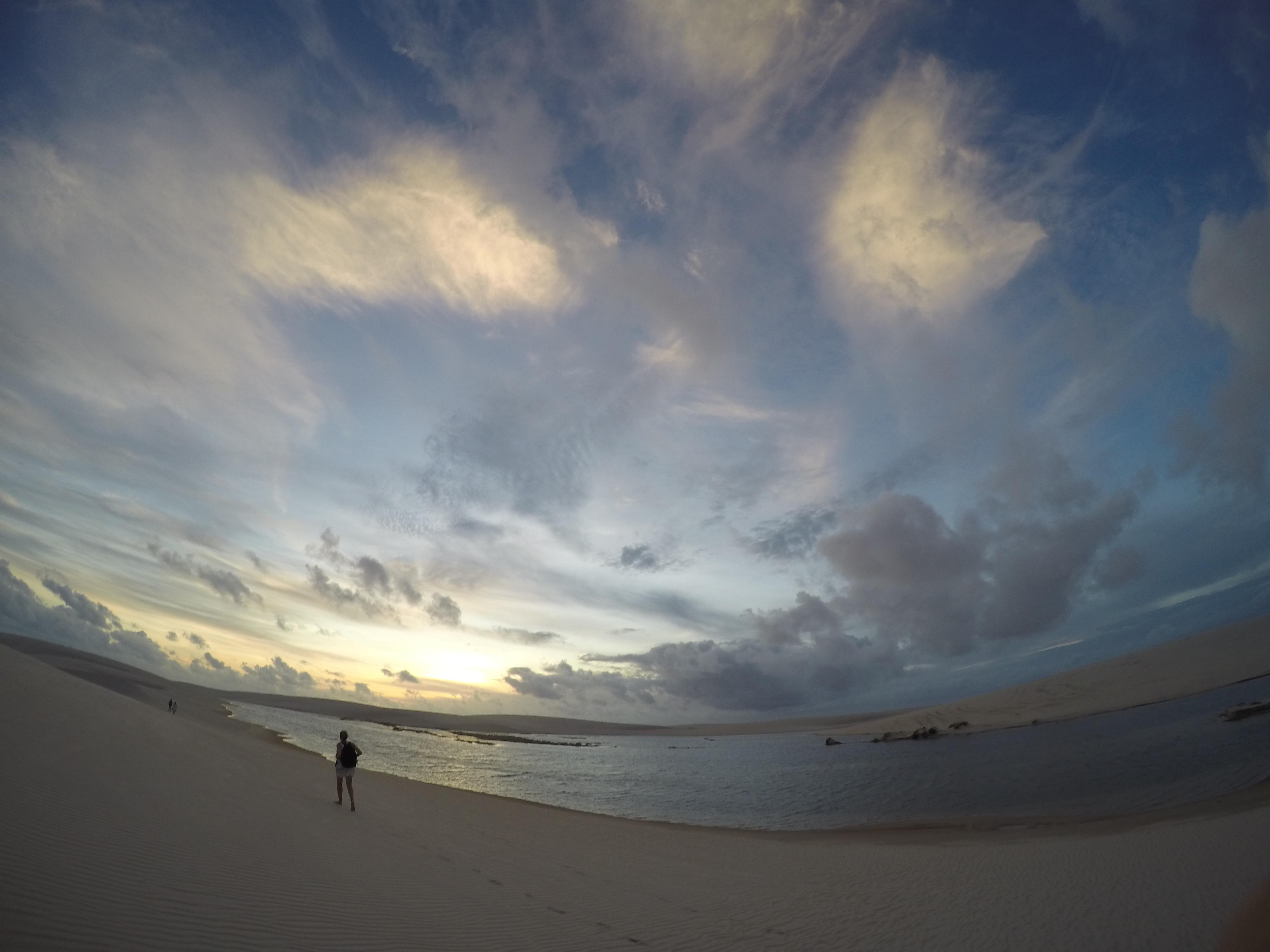 Lagunes Nordeste Parque de Lencois Brésil