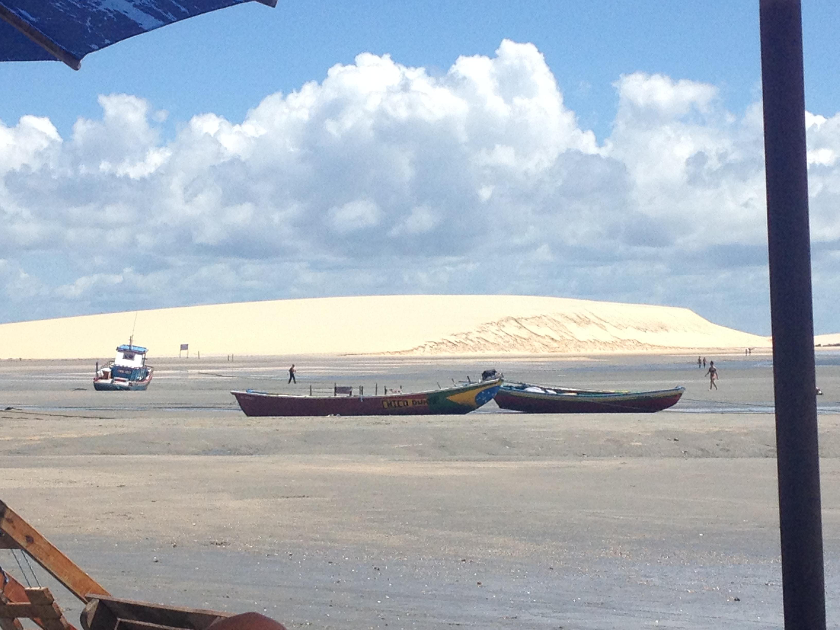 Jericoacoara Brésil Dunes Barques