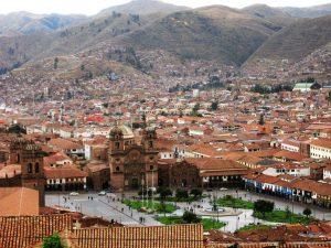 Cuzco perou plaza de armas