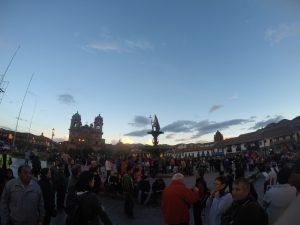 Plaza Armas Cuzco Perou