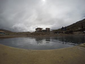 Bain thermal Ausangate Perou